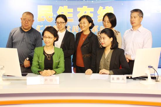 金沙国际华人娱乐平台:青岛市政府侨办主任尹明琴网谈实录