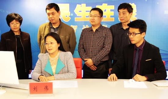青岛市统计局党委委员,副局长刘伟网谈实录