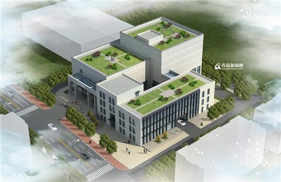 李沧区图书馆,档案馆开建 位于区政府东北角 - 青岛